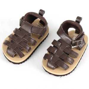 Carters NB Brown Fisherman Sandals New no tag